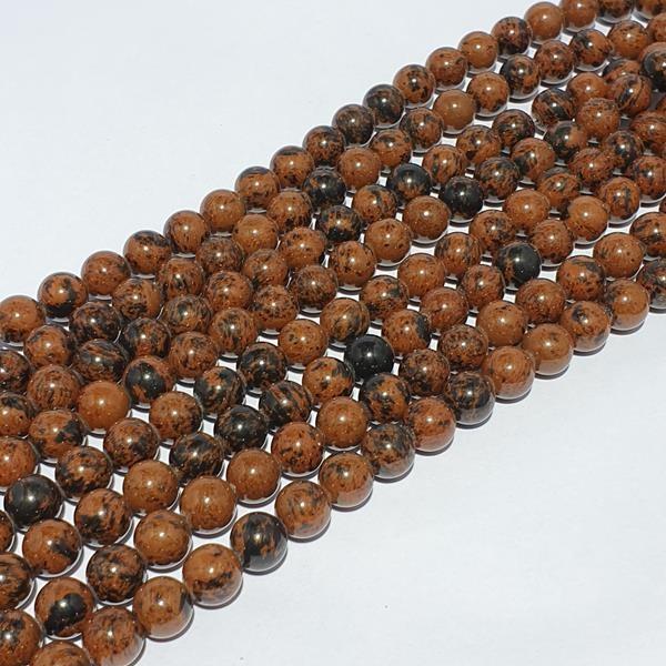 Bruine Jaspis glans bolvorm 10mm